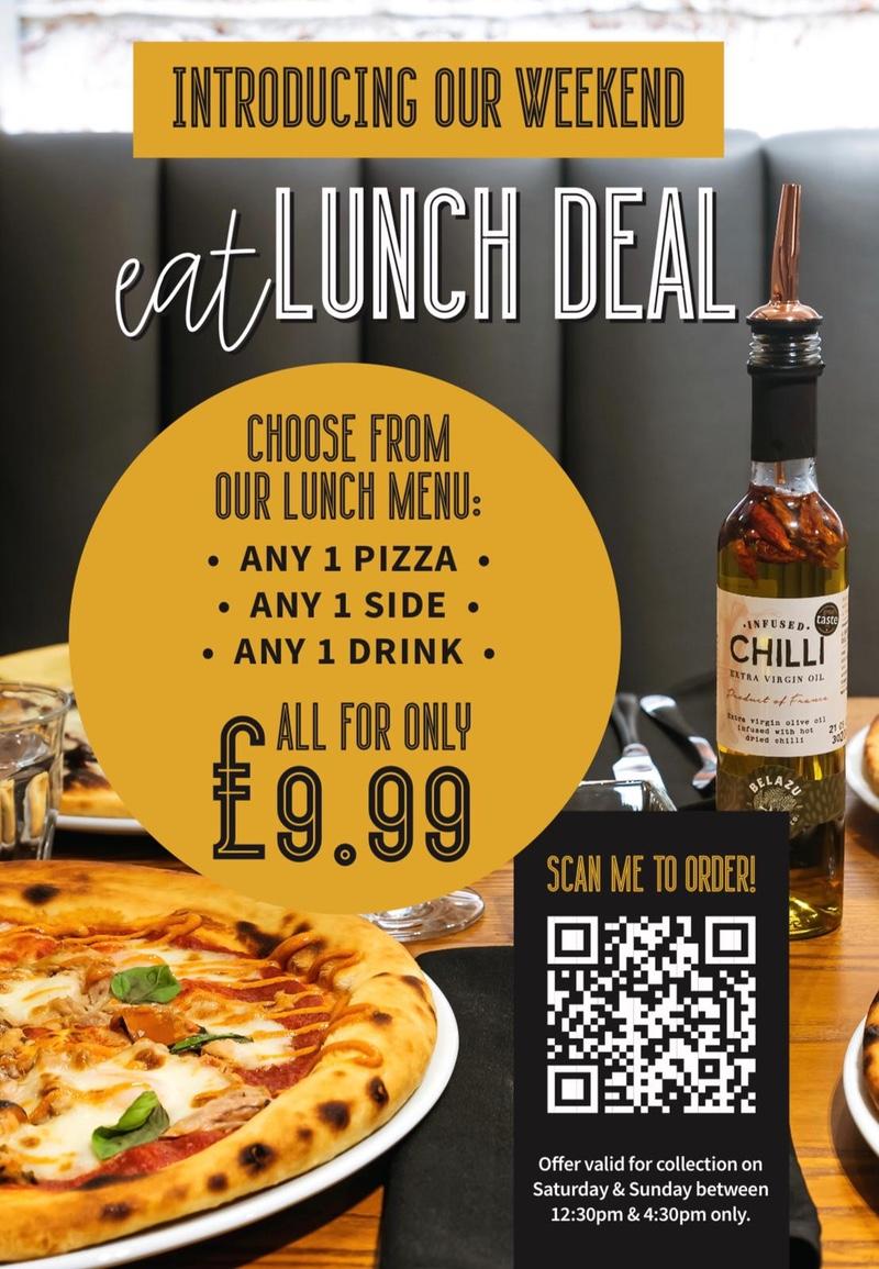 eatPizza - Lunch Deal Weekend